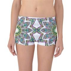 Decorative Ornamental Design Reversible Bikini Bottoms