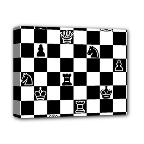 Chess Deluxe Canvas 14  X 11  by Valentinaart