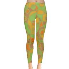 Pattern Leggings  by Valentinaart