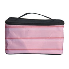Pink Peony Outline Romantic Cosmetic Storage Case by Simbadda