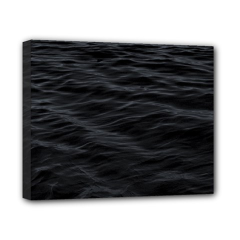Dark Lake Ocean Pattern River Sea Canvas 10  X 8  by Simbadda