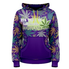 Cannabis Women s Pullover Hoodie by PattyVilleDesigns