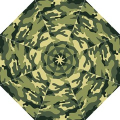 Camouflage Camo Pattern Hook Handle Umbrellas (medium) by Simbadda