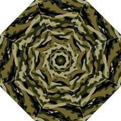 Military Vector Pattern Texture Folding Umbrellas by Simbadda