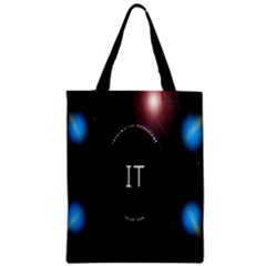 This Is An It Logo Zipper Classic Tote Bag by Simbadda