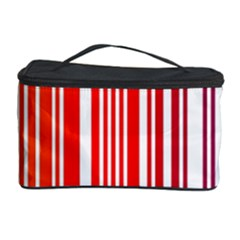 Colorful Gradient Barcode Cosmetic Storage Case by Simbadda