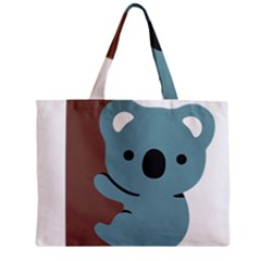 Animal Koala Zipper Mini Tote Bag by Alisyart