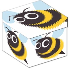 Bee Wasp Face Sinister Eye Fly Storage Stool 12   by Alisyart