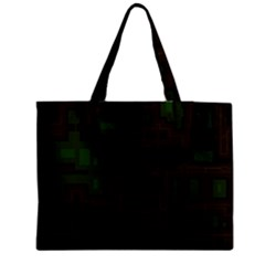 Circuit Board A Completely Seamless Background Design Medium Tote Bag by Simbadda