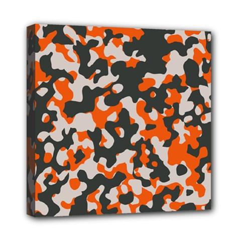 Camouflage Texture Patterns Mini Canvas 8  X 8  by Simbadda