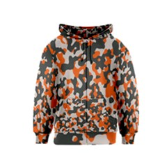 Camouflage Texture Patterns Kids  Zipper Hoodie by Simbadda