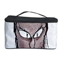 Scary Vampire Drawing Cosmetic Storage Case by dflcprints