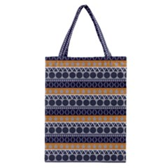 Seamless Abstract Elegant Background Pattern Classic Tote Bag by Simbadda