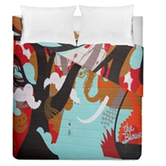 Colorful Graffiti In Amsterdam Duvet Cover Double Side (queen Size) by Simbadda