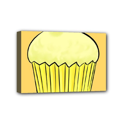 Cake Bread Pie Cerry Mini Canvas 6  X 4  by Alisyart