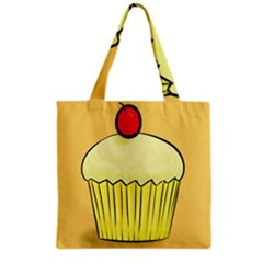 Cake Bread Pie Cerry Grocery Tote Bag by Alisyart