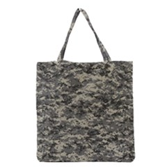 Us Army Digital Camouflage Pattern Grocery Tote Bag by Simbadda
