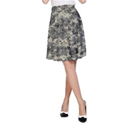 Us Army Digital Camouflage Pattern A Line Skirt by Simbadda