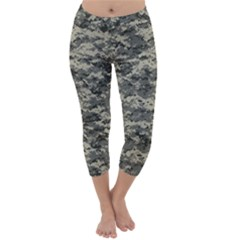 Us Army Digital Camouflage Pattern Capri Winter Leggings