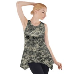 Us Army Digital Camouflage Pattern Side Drop Tank Tunic by Simbadda