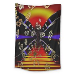 Diamond Manufacture Large Tapestry