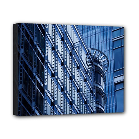 Building Architectural Background Canvas 10  X 8  by Simbadda