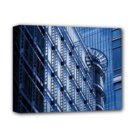 Building Architectural Background Deluxe Canvas 14  X 11  by Simbadda
