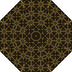 Digitally Created Seamless Pattern Tile Hook Handle Umbrellas (medium)
