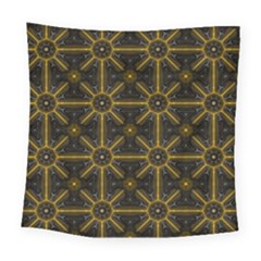 Digitally Created Seamless Pattern Tile Square Tapestry (large) by Simbadda