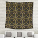 Digitally Created Seamless Pattern Tile Square Tapestry (Large) View2