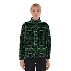 An Overly Large Geometric Representation Of A Circuit Board Winterwear by Simbadda