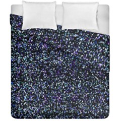 Pixel Colorful And Glowing Pixelated Pattern Duvet Cover Double Side (california King Size) by Simbadda