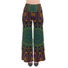 Vibrant Colorful Abstract Pattern Seamless Pants by Simbadda