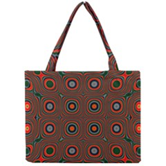Vibrant Pattern Seamless Colorful Mini Tote Bag by Simbadda