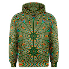 Vibrant Seamless Pattern  Colorful Men s Zipper Hoodie