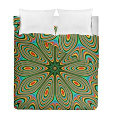 Vibrant Seamless Pattern  Colorful Duvet Cover Double Side (full/ Double Size) by Simbadda