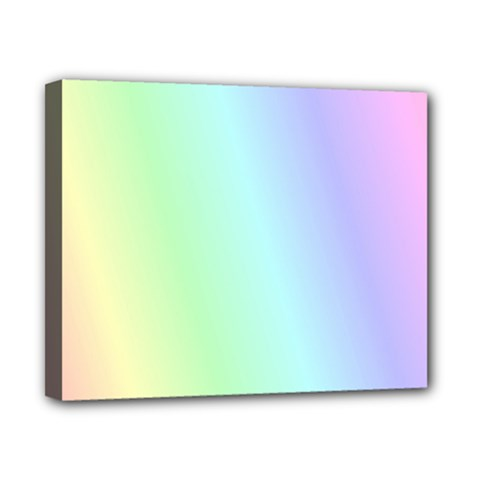 Multi Color Pastel Background Canvas 10  X 8  by Simbadda