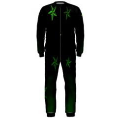 Nautical Star Green Space Light Onepiece Jumpsuit (men)