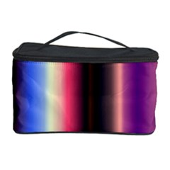 Multi Color Vertical Background Cosmetic Storage Case by Simbadda
