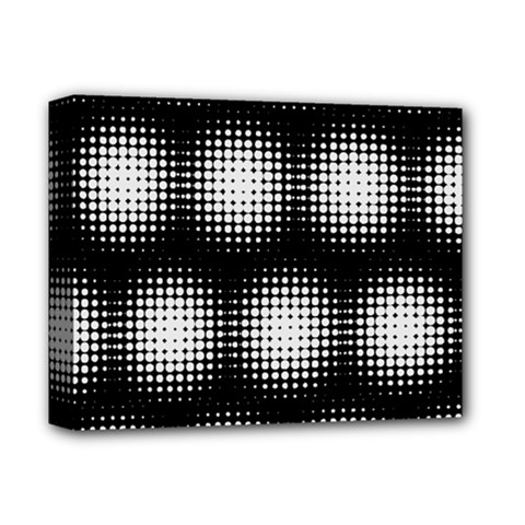 Black And White Modern Wallpaper Deluxe Canvas 14  X 11  by Simbadda