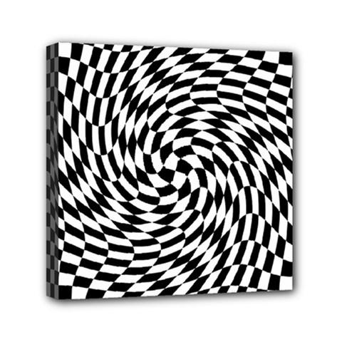 Whirl Mini Canvas 6  X 6  by Simbadda