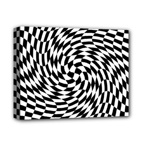 Whirl Deluxe Canvas 14  X 11  by Simbadda