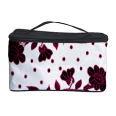 Floral Pattern Cosmetic Storage Case by Simbadda