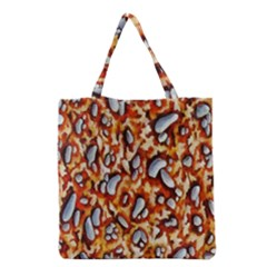 Pebble Painting Grocery Tote Bag by Simbadda