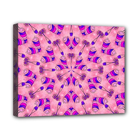 Mandala Tiling Canvas 10  X 8  by Simbadda