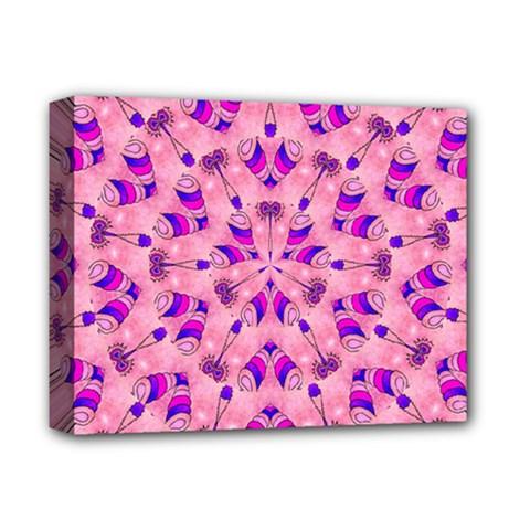 Mandala Tiling Deluxe Canvas 14  X 11  by Simbadda