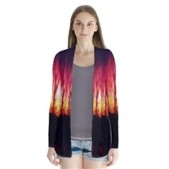 Fall Forest Background Cardigans by Simbadda