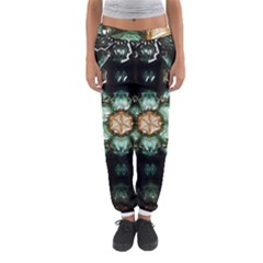 Kaleidoscope With Bits Of Colorful Translucent Glass In A Cylinder Filled With Mirrors Women s Jogger Sweatpants by Simbadda