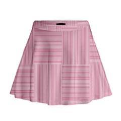 Pattern Mini Flare Skirt