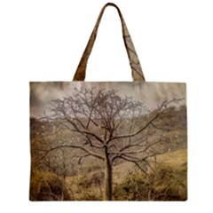 Ceiba Tree At Dry Forest Guayas District   Ecuador Zipper Mini Tote Bag by dflcprints